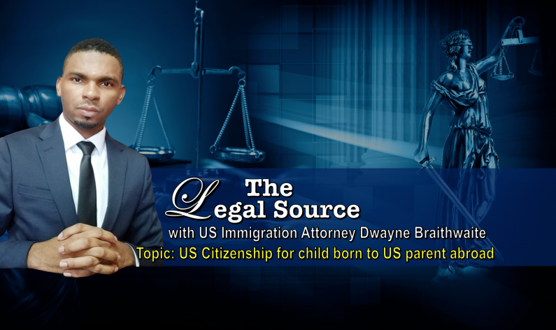 Legal Source: US Citizenship for a child born to US parent abroad