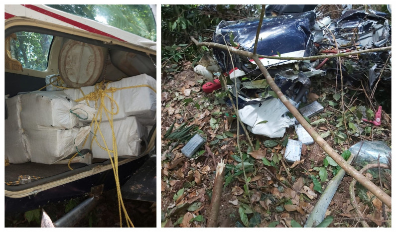 Man found dead in crashed drug plane identified as Brazilian national; Injured pilot is known drug trafficker