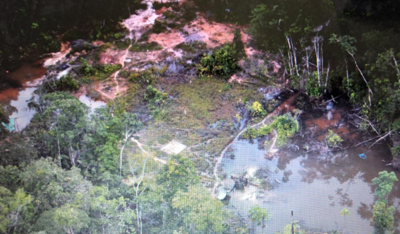 Illegal tunnel mines discovered and destroyed in South Rupununi mineral reserve
