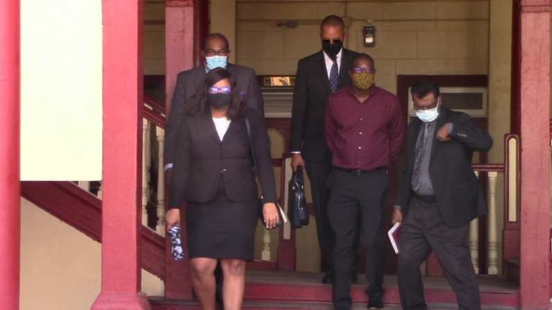Patterson and Adams granted bail on fraud conspiracy charges over Demerara Bridge feasibility contract
