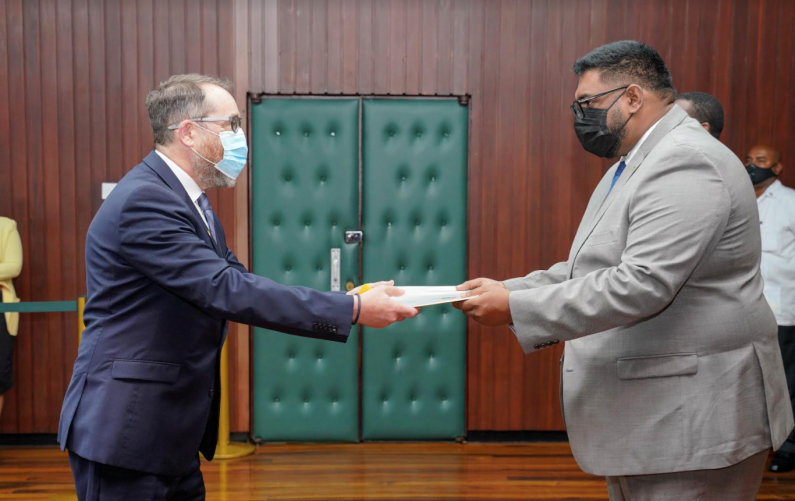 New Canadian High Commissioner to Guyana accredited