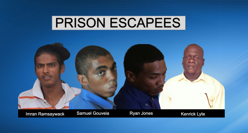 Still no sighting of Mazaruni Prison escapees; Prison Officers being questioned