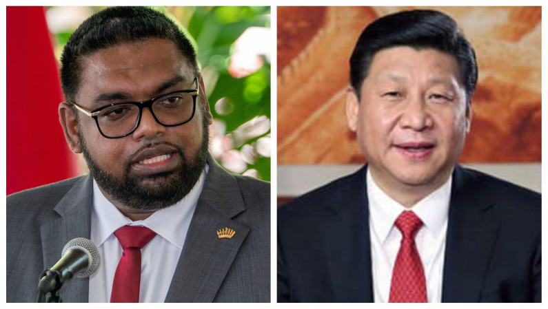 President Ali and Chinese President discuss additional cooperation and improved relations