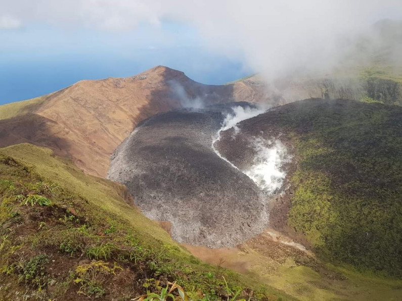 Guyana pledges support and assistance to St. Vincent as volcano crisis looms