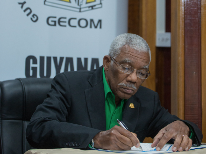 Guyanese mature enough to fix electoral laws without foreign intervention -says Fmr. President Granger