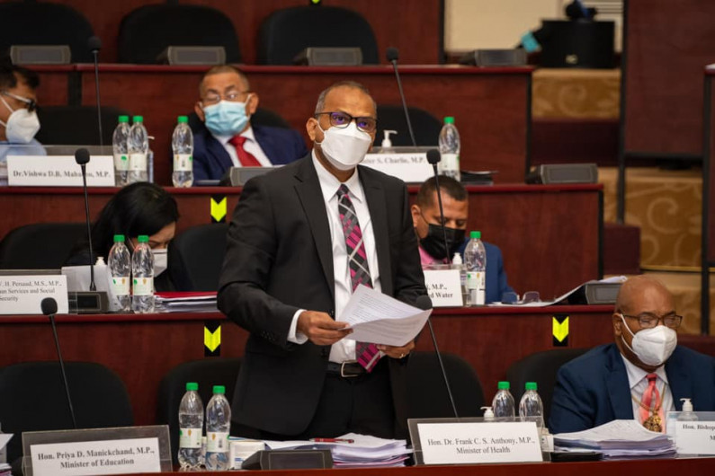 """Health Minister reiterates  """"No fully vaccinated person has died from COVID-19 in Guyana"""""""