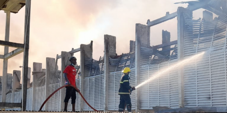 Fire gutted North Ruimveldt Multilateral will be rebuilt; Plans in place to accommodate CSEC students -Manickchand
