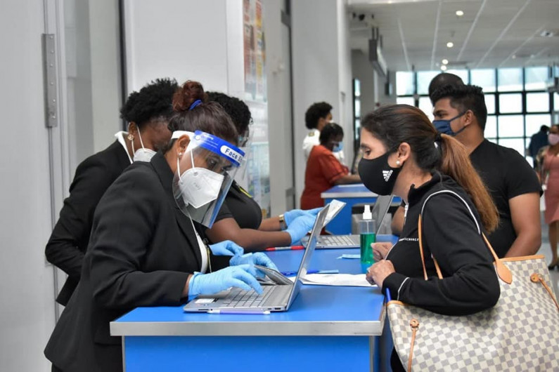 Guyana considering vaccination requirement for incoming passengers