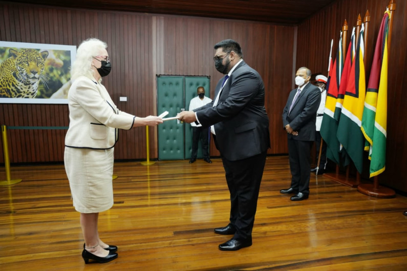 New British High Commissioner pledges to strengthen bonds between Guyana and UK