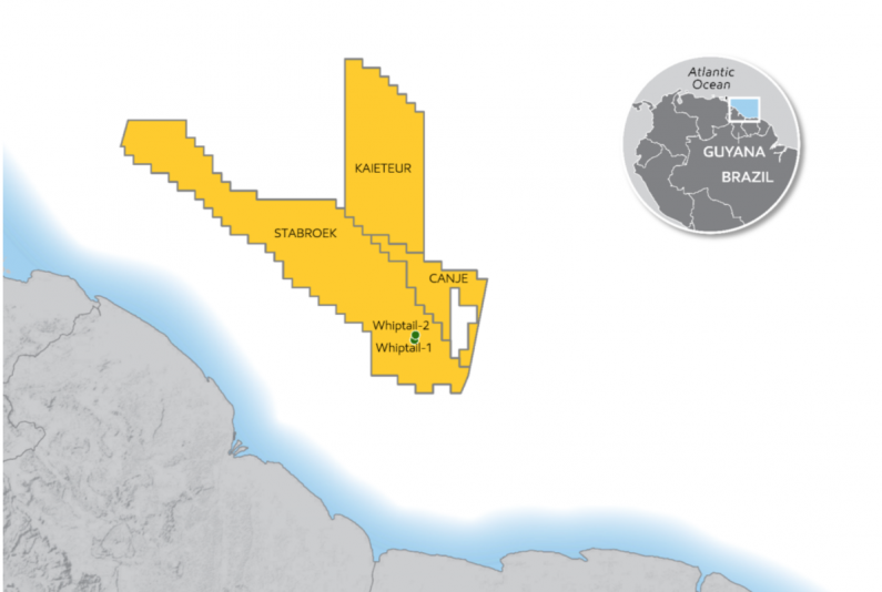 Exxon announces significant oil discovery at Whiptail, offshore Guyana
