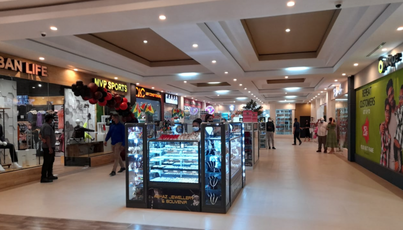 Sarwan sees 10-year dream realised with opening of new mall