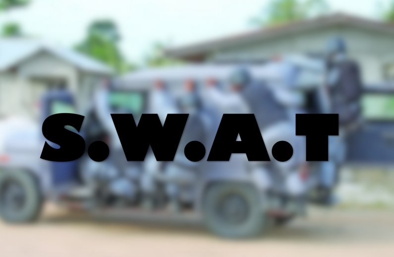 SWAT Unit should only be dispatched in special circumstances  -retired Military Chief