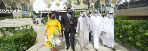 President Ali extends welcome to investors for Guyana at Dubai Expo