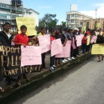 PPP youth group pickets National Assembly