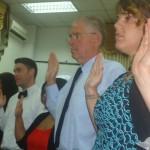 New Peace Corps volunteers sworn in