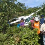 12 persons survive plane crash at Matthew's Ridge