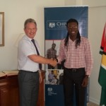YCT President wins British Government scholarship