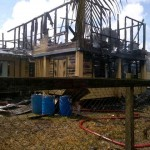 Section of West Bank school gutted by fire