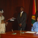 Tearful Leroy Brumell takes oath as Top Cop