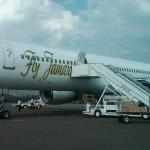 New York bound Fly Jamaica passengers from Guyana no longer have to disembark during Jamaica stop