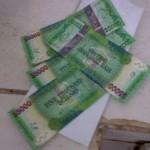 Counterfeit $5000 bills surface