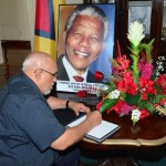 President Ramotar to attend Nelson Mandela's funeral