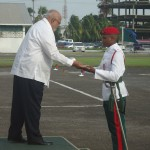 19-year-old tops Officer Cadet...