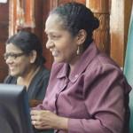 President and Speaker pay tribute to Deborah Backer
