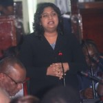 Priya banned from Budget debat...