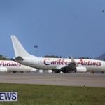 CAL flight lands in Bermuda after burning smell in cabin.