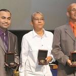 Karen DeSouza picks up prestigious Caribbean Award.