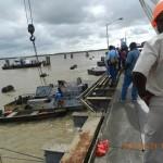 Harbour Bridge worker killed as tug flips over