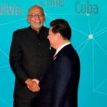 President hold talks with Indian and Chinese Leaders