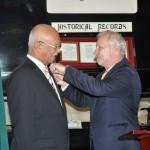 Clifford Reis receives Sweden's 2nd Highest National Award