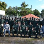 GDF and US Special Forces trade skills and training