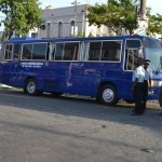 Government launches temporary free big bus service to fight fare hike