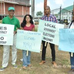 APNU steps up Local Govt. Elections calls; Blue Caps joins in