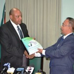 Auditor General hands over 2013 Report