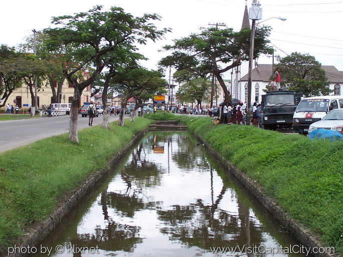 Wants to cover city canals and make parking spots news source guyana