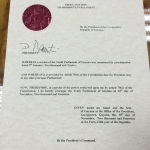National Assembly receives Prorogue Proclamation and Gazette