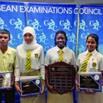 Guyanese top students win regional CXC awards