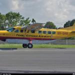 Trans Guyana plane hard lands at Matthews Ridge during bad weather