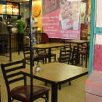 Gunmen and policeman clash during robbery attempt at Popeyes