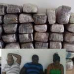Two Guyanese among four busted in Brazil with 50 lbs marijuana