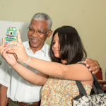 Granger lays out APNU+AFC plans for University of Guyana during meeting with students