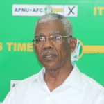 Granger eyeing 60% of votes; convinced APNU+AFC will be victorious