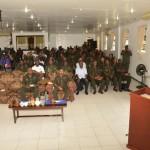 President encourages Cadet officers to uphold standards