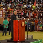 Granger promises not to let nation down as he reminds Guyanese of their duty to nation