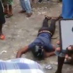 Businessman shoots two bandits during robbery; one dies and the other hospitalized