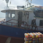All crew members safe from cargo vessel that sank